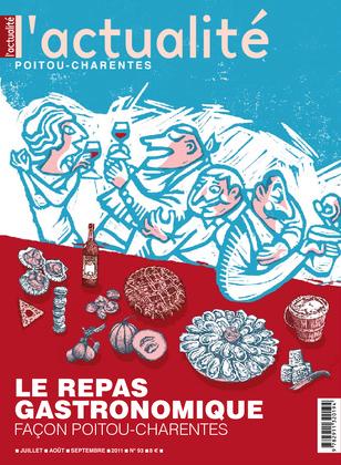 L'Actualité Poitou-Charentes, numéro 93, juillet, août, septembre 2011.